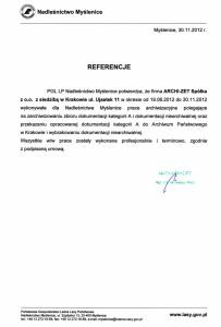 List-referencyjny-NADLEŚNICTWO-MYŚLENICE-archizet